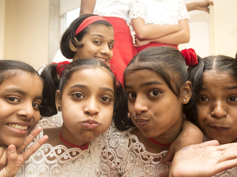 Sponsor soaps for 82 girls